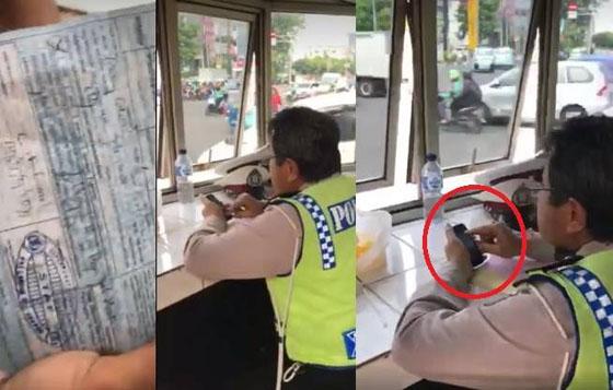 Tilang Pengendara Saat Lampu Hijau, Polisi Tidak Bisa Beri Penjelasan