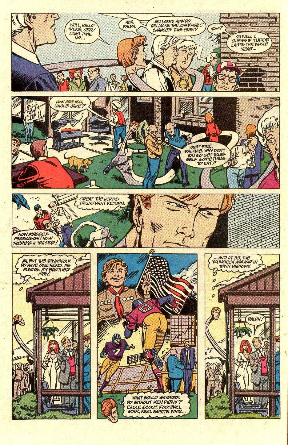 Read online Secret Origins (1986) comic -  Issue #30 - 5