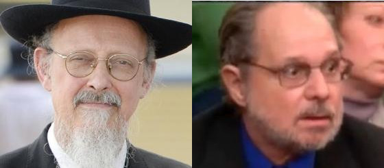 Rabbi Shimon Cowen and Arthur Abba Goldberg