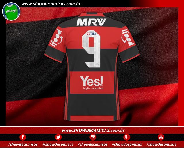 Flamengo renova com patrocinador e vai receber R  6 milhões por espaço na  camisa 609700e28317a