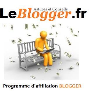 Programme d'Affiliation Remunerations sur Blogger