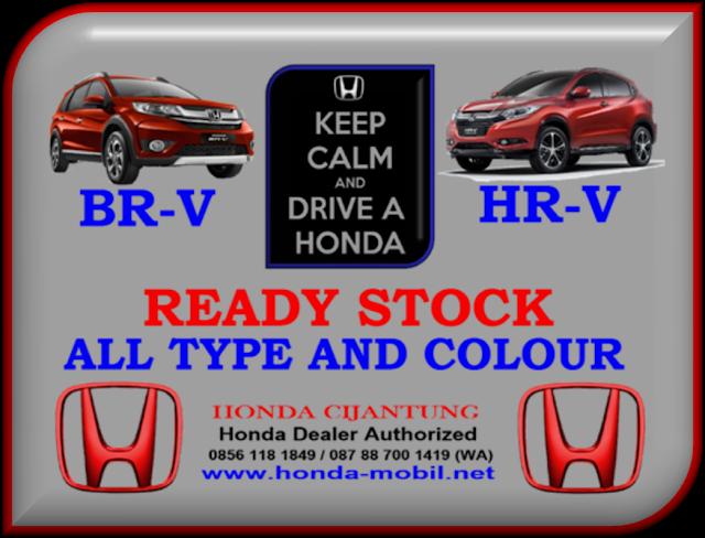 HONDA BR-V DAN HR-V READY STOCK