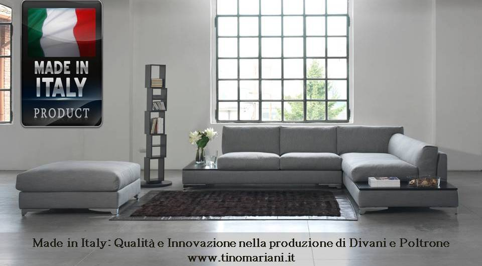 Divani blog tino mariani made in italy qualit e for Made divani