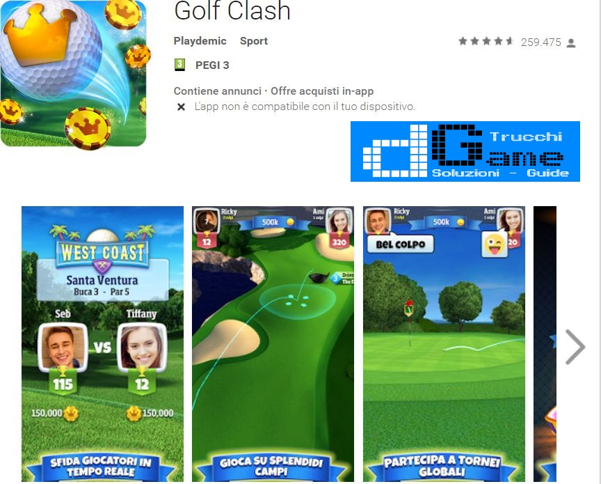 Trucchi Golf Clash Mod Apk Android v81.0.5.202.0