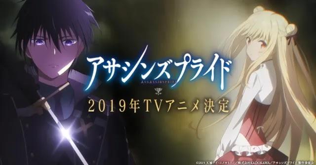 Anime Assassins Pride Akan Tayang Oktober Mendatang