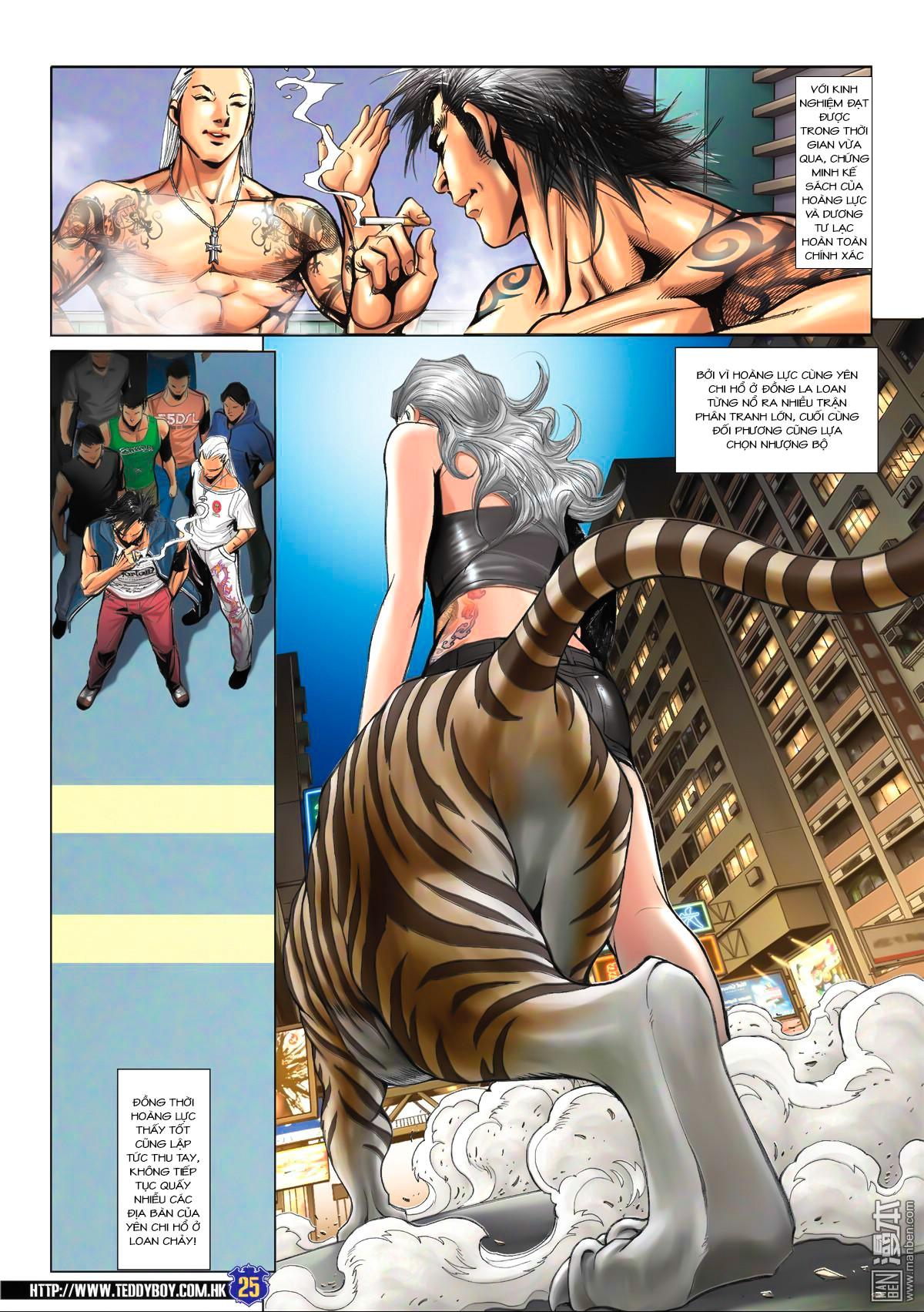 Người Trong Giang Hồ NetTruyen chap 1538 - Trang 21