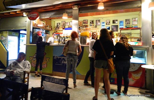 Bar do Cine Paris em Pláka, Atenas