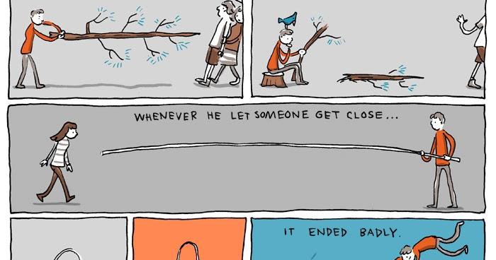 incidental comics personal space
