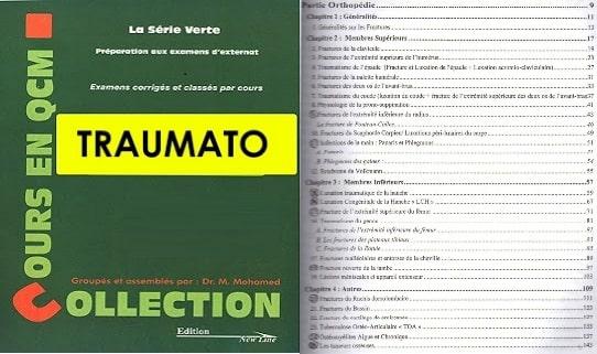 Série Verte Traumatologie PDF 2017 gratuit