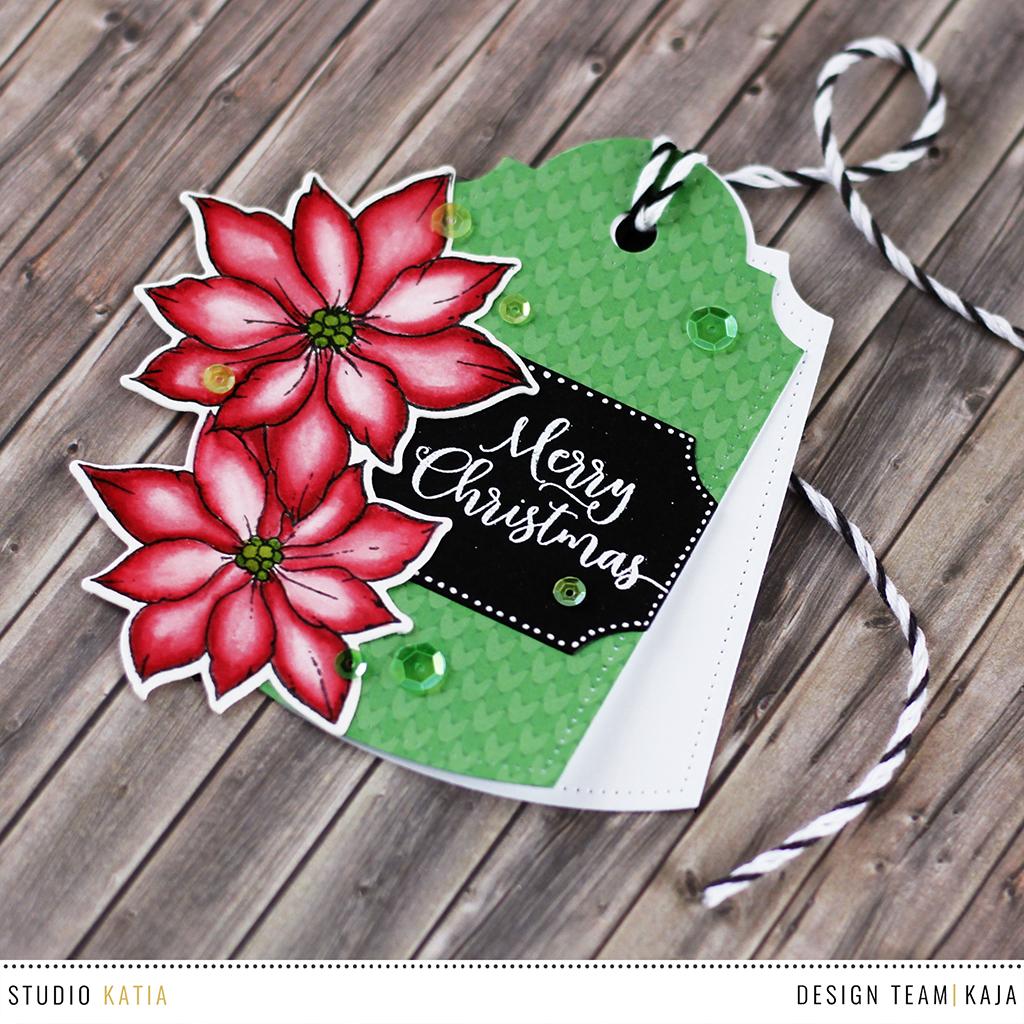 Christmas gift tag | STUDIO KATIA