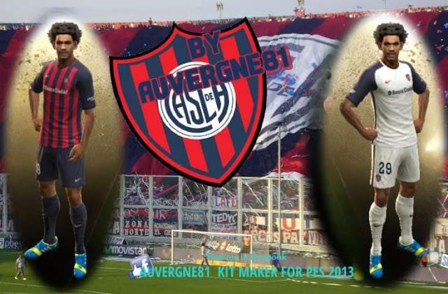 San Lorenzo De Almagro 2017 Kit PES 2013