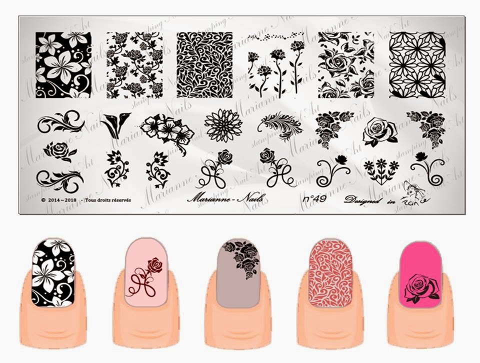 Lacquer Lockdown: Hot Off The Stamping Press: Marianne Nails Nail ...
