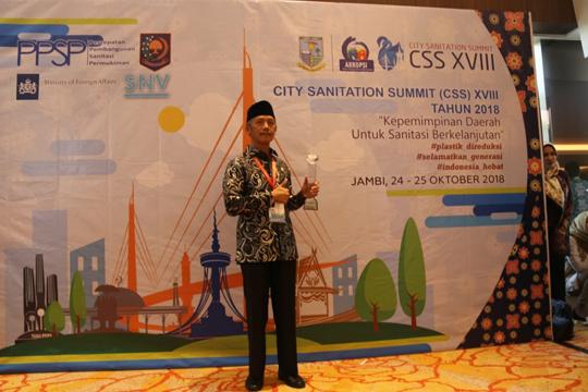 Berhasil Kelola DAK Untuk Sanitasi Terbaik, Pemkab Pringsewu Raih Penghargaan
