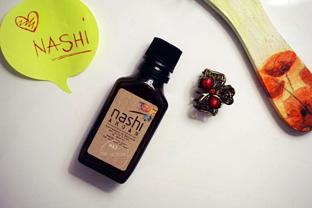 Ulei de argan Nashi review