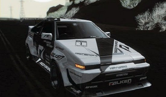 MOD Toyota Corrola AE86 Drift