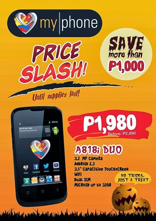 MyPhone A818i Duo Price Drop