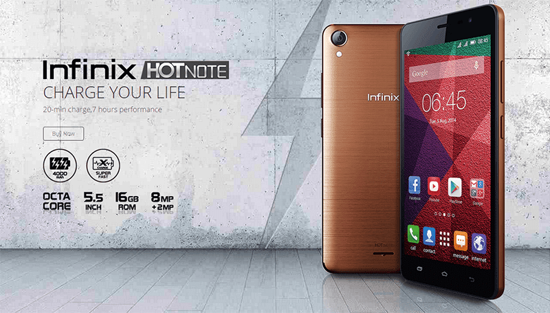 Infinix Mobile To Arrive In The Philippines, To Start With The 4000 mAh Powered Infinix Hot Note!