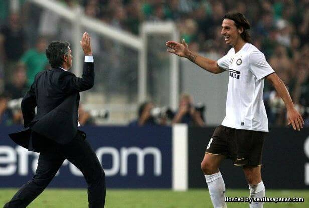 Zlatan+Mourinho