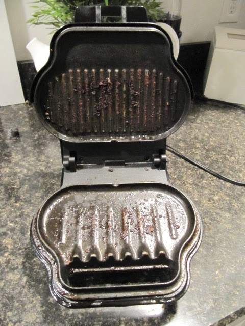 cleaning george foreman grills