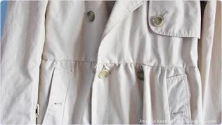 Diy /  coat refashion / Jak przerobić płaszcz? / Przeróbka dużego  płaszczyka trencz w płaszczyk