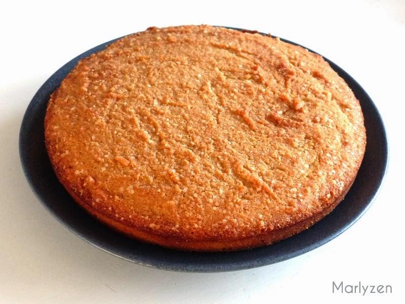 Gâteau aux amandes et au rhum de Bernard