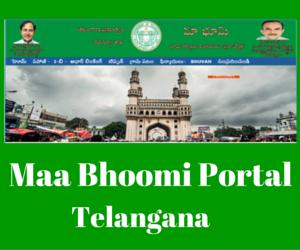 Maa_Bhoomi_Portal_Telangna
