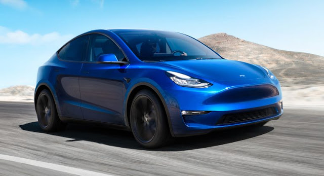 Electric Vehicles, New Cars, SUV, Tesla, Tesla Model Y, Top 4
