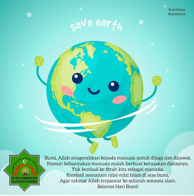 Menjaga Bumi juga bisa jadi Ibadah loh.