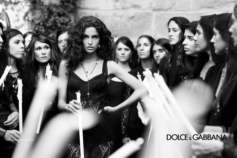 Chiara Scelsi appears in Dolce & Gabbana spring-summer 2019 campaign