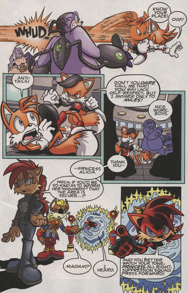 Read online Sonic The Hedgehog comic -  Issue #189 - 5