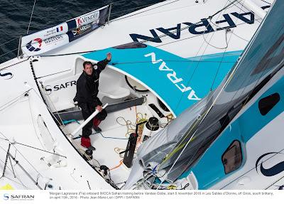 Morgan Lagravière et Safran qualifiés pour le Vendée Globe.