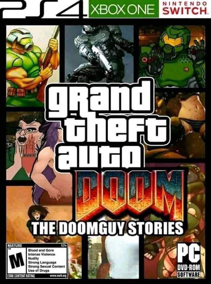 Grand Theft Auto Doom - The Doomguy Stories