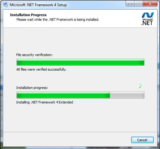 Install Net Framework 4.0
