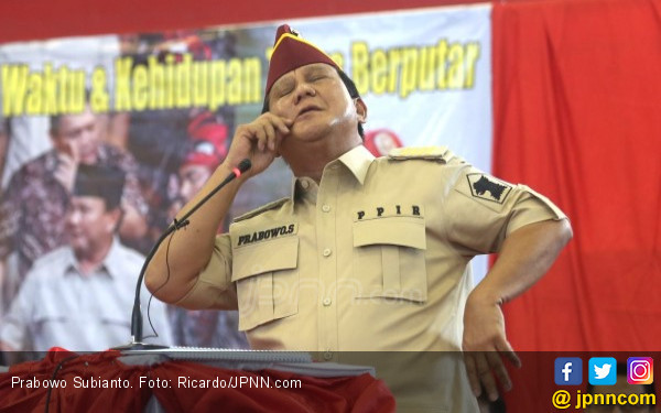 Prabowo Disebut Jenderal Kardus, Gerindra: Itu Pendapat Andi Arief
