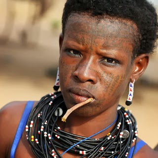 How Tribal Marks Came To Be Used African Folktale