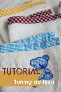 Tutorial toallas bebé