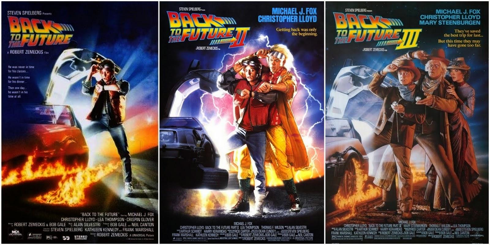 Resultado de imagen de back to the future trilogia