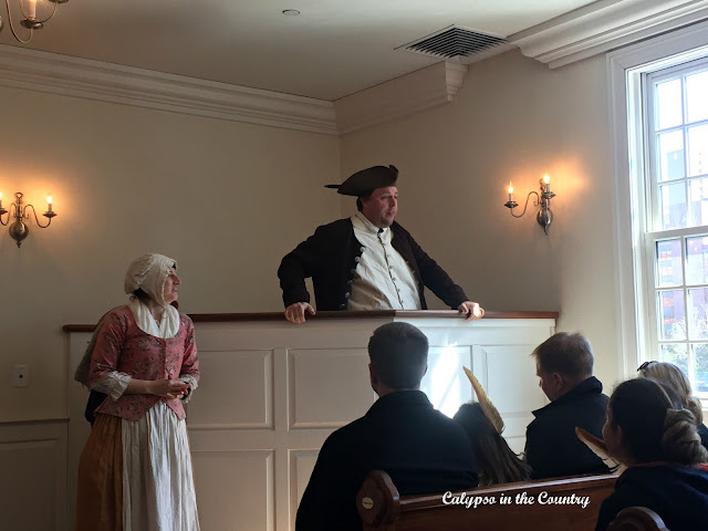 Boston Tea Party Tour with live actors - so much fun!