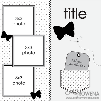 A Little Bit of Patti: Scrapbooking Layout Ideas (Sketches
