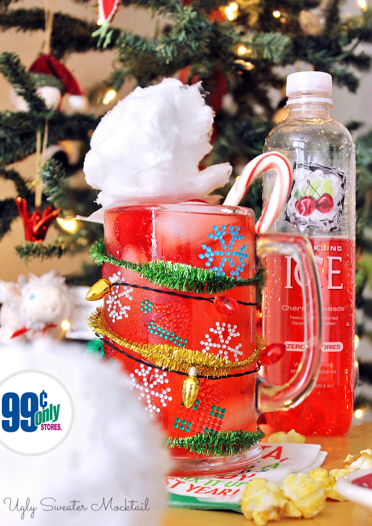Create an ugly weater drink station for holiday gatherings at the 99! #DoingThe99 #99YourHoliday #AD