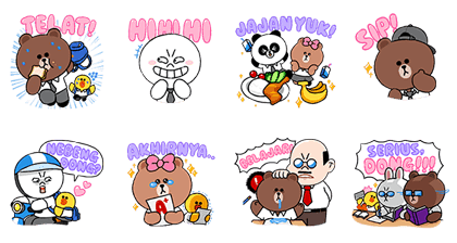 LINE Characters: Students