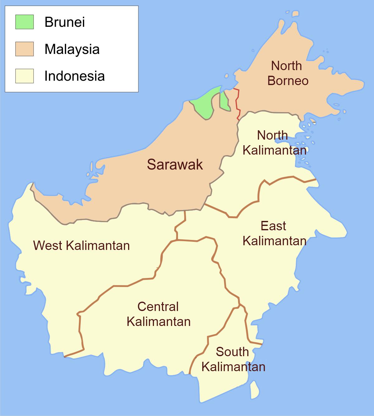 Borneo Island: Big Blue 1840-1940: Sarawak