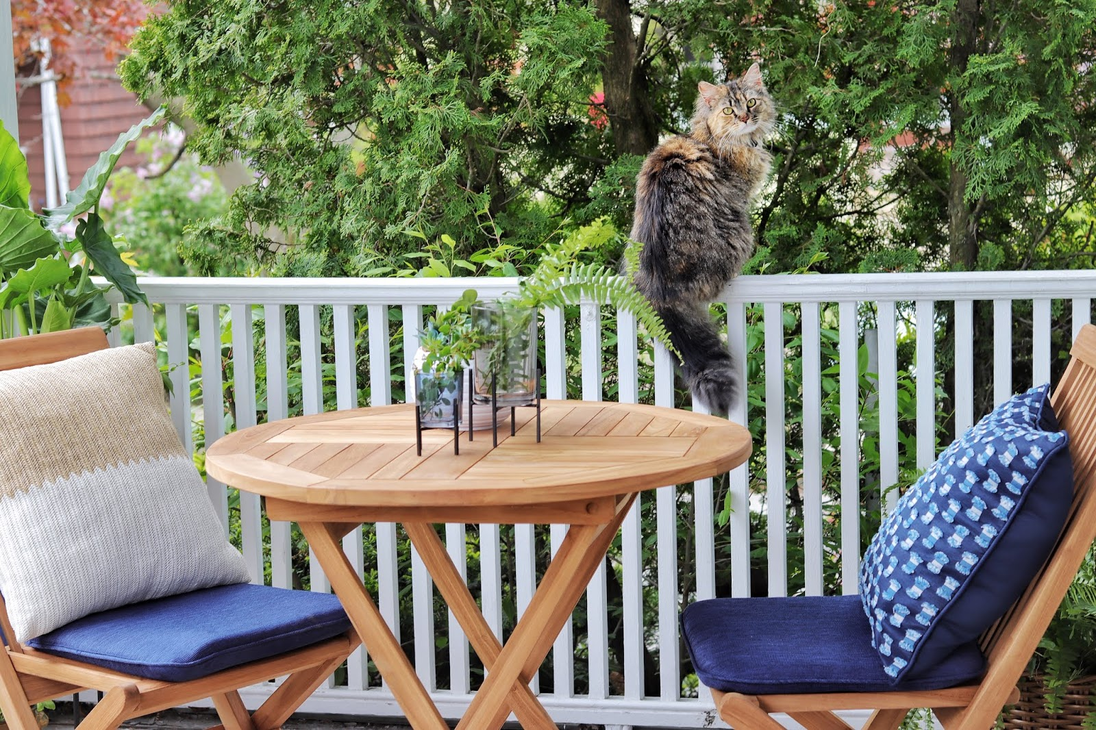 mini spring porch refresh made by carli