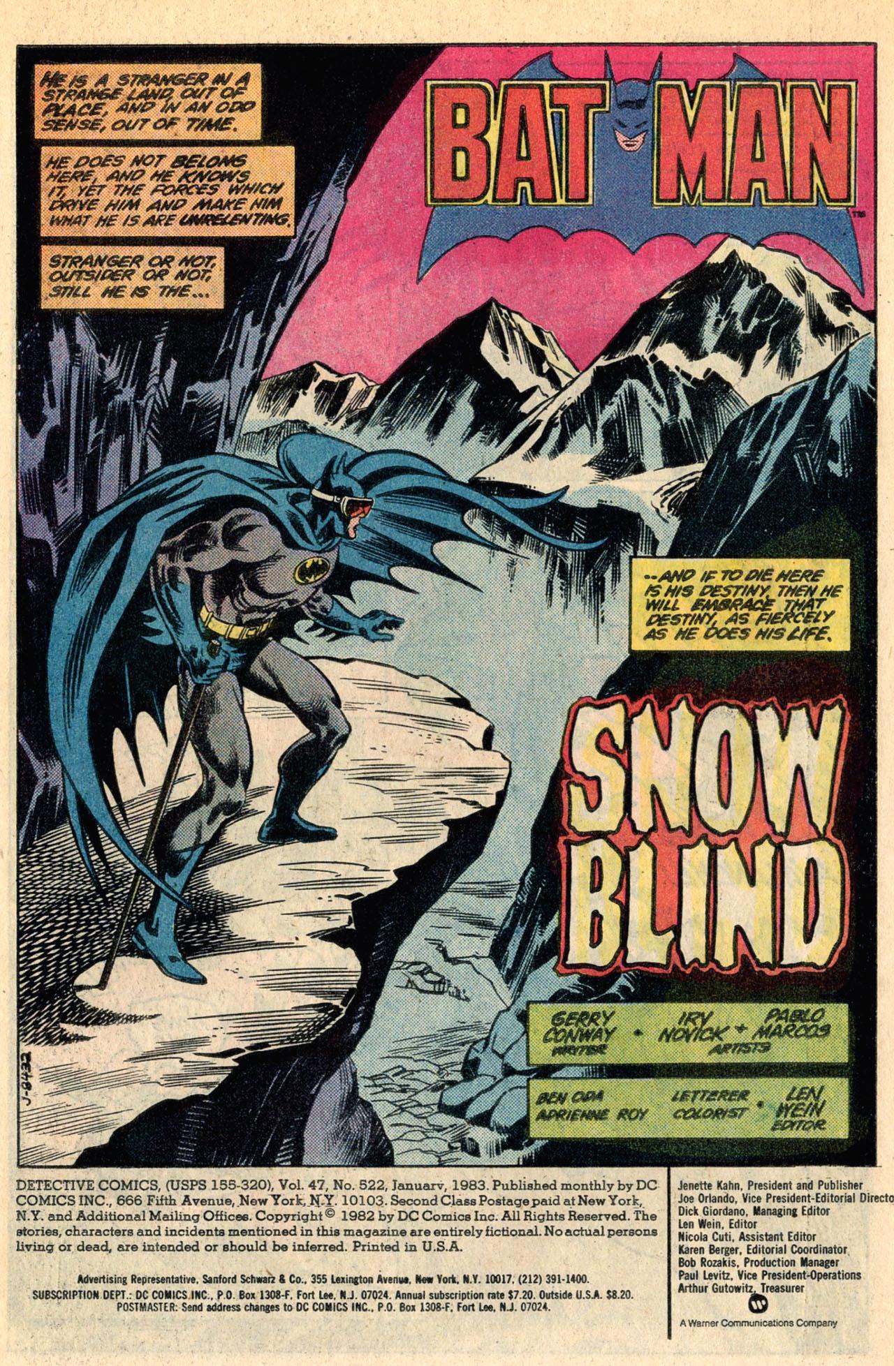 Detective Comics (1937) 522 Page 2