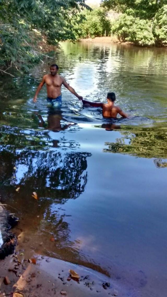 Homem morre afogado no rio São Nicolau em Santa Cruz dos Milagres