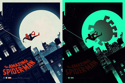 The Amazing Spider-Man Regular Edition Marvel Screen Print by Matt Ferguson & Grey Matter Art
