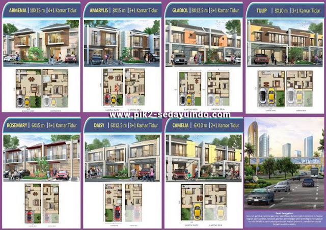 Rumah PIK 2 Sedayu Indo City Dijual Cluster Magenta