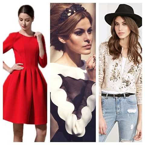 Revamp your holiday wardrobe with these dresses, jackets, and headbands!