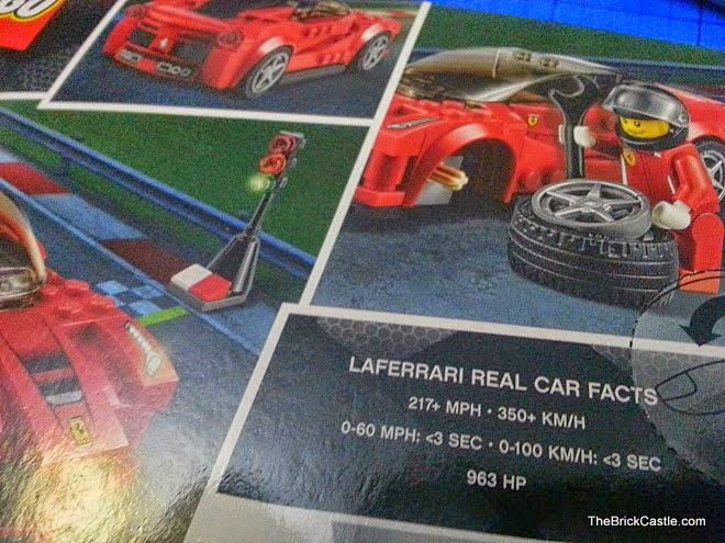 LEGO Speed Champions LaFerrari set 75899 Review pack rear
