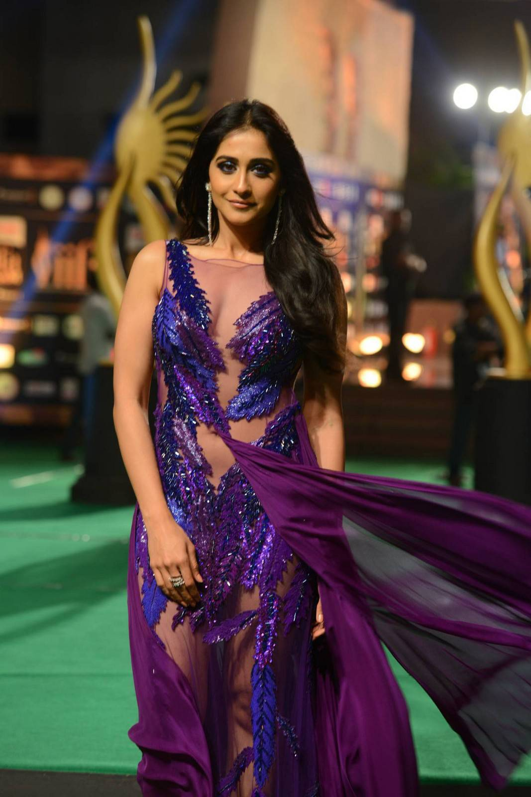 Actress Regina Cassandra Latest Cute Hot Spicy Photos Gallery At IIFA Awards 2016